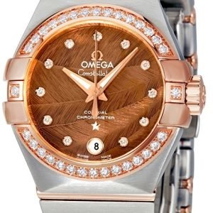 Omega Constellation Co-Axial 27mm 123.25.27.20.63.001 Kello