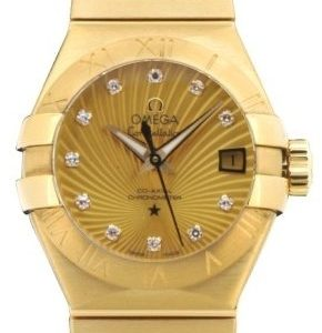 Omega Constellation Co-Axial 27mm 123.50.27.20.58.001 Kello