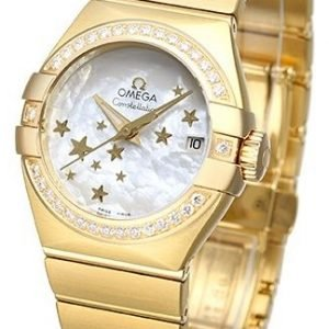 Omega Constellation Co-Axial 27mm 123.55.27.20.05.001 Kello