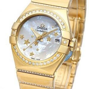 Omega Constellation Co-Axial 27mm 123.55.27.20.05.002 Kello