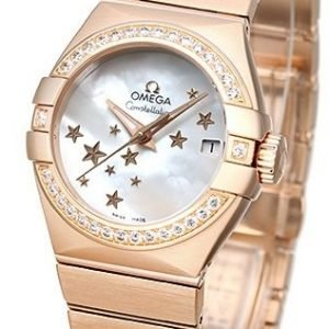 Omega Constellation Co-Axial 27mm 123.55.27.20.05.003 Kello