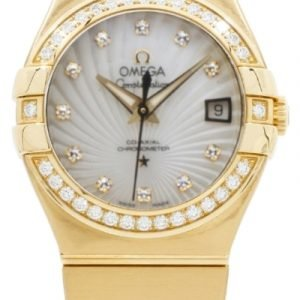 Omega Constellation Co-Axial 27mm 123.55.27.20.55.002 Kello