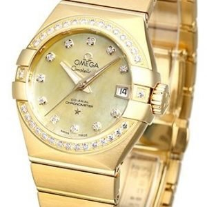 Omega Constellation Co-Axial 27mm 123.55.27.20.57.002 Kello