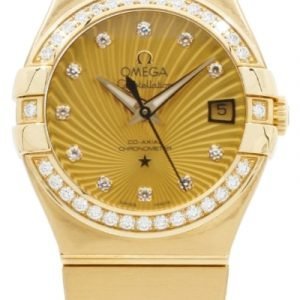 Omega Constellation Co-Axial 27mm 123.55.27.20.58.001 Kello