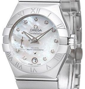 Omega Constellation Co-Axial 27mm 127.10.27.20.55.001 Kello