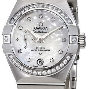 Omega Constellation Co-Axial 27mm 127.15.27.20.55.001 Kello