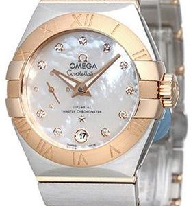 Omega Constellation Co-Axial 27mm 127.20.27.20.55.001 Kello