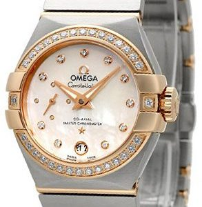 Omega Constellation Co-Axial 27mm 127.25.27.20.55.001 Kello