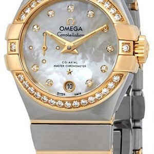 Omega Constellation Co-Axial 27mm 127.25.27.20.55.002 Kello