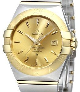 Omega Constellation Co-Axial 31mm 123.20.31.20.08.001 Kello