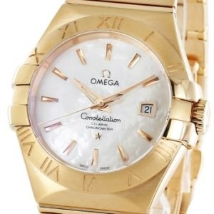 Omega Constellation Co-Axial 31mm 123.50.31.20.05.001 Kello