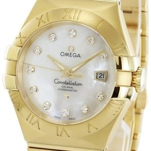 Omega Constellation Co-Axial 31mm 123.50.31.20.55.002 Kello