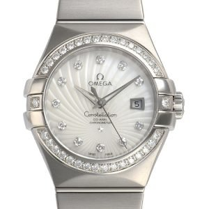 Omega Constellation Co-Axial 31mm 123.55.31.20.55.003 Kello