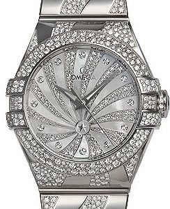 Omega Constellation Co-Axial 31mm 123.55.31.20.55.009 Kello