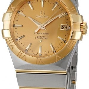 Omega Constellation Co-Axial 35mm 123.20.35.20.08.001 Kello