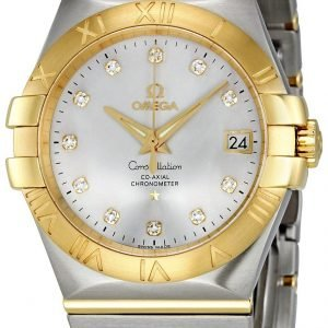 Omega Constellation Co-Axial 35mm 123.20.35.20.52.002 Kello