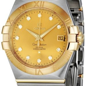 Omega Constellation Co-Axial 35mm 123.20.35.20.58.001 Kello