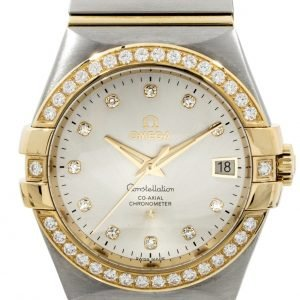 Omega Constellation Co-Axial 35mm 123.25.35.20.52.002 Kello