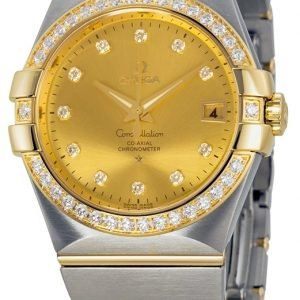 Omega Constellation Co-Axial 35mm 123.25.35.20.58.001 Kello