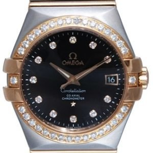 Omega Constellation Co-Axial 35mm 123.25.35.20.63.001 Kello