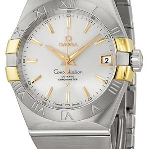 Omega Constellation Co-Axial 38mm 123.20.38.21.02.005 Kello