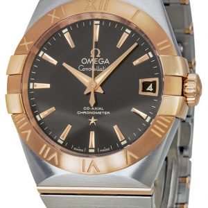 Omega Constellation Co-Axial 38mm 123.20.38.21.06.002 Kello
