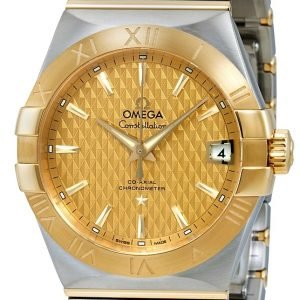 Omega Constellation Co-Axial 38mm 123.20.38.21.08.002 Kello