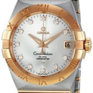 Omega Constellation Co-Axial 38mm 123.20.38.21.52.001 Kello