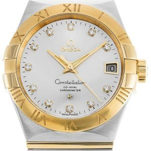 Omega Constellation Co-Axial 38mm 123.20.38.21.52.002 Kello