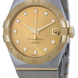 Omega Constellation Co-Axial 38mm 123.20.38.21.58.001 Kello