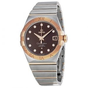 Omega Constellation Co-Axial 38mm 123.20.38.21.63.001 Kello