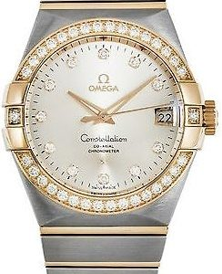 Omega Constellation Co-Axial 38mm 123.25.38.21.52.001 Kello