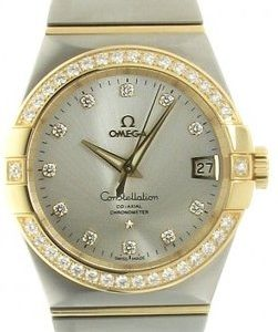 Omega Constellation Co-Axial 38mm 123.25.38.21.52.002 Kello