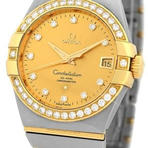 Omega Constellation Co-Axial 38mm 123.25.38.21.58.001 Kello