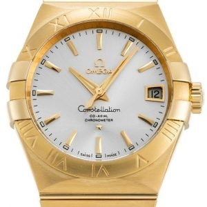 Omega Constellation Co-Axial 38mm 123.50.38.21.02.002 Kello
