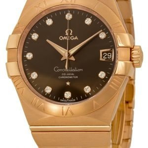 Omega Constellation Co-Axial 38mm 123.50.38.21.63.001 Kello