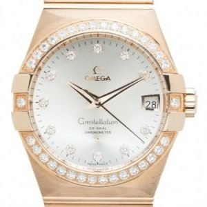 Omega Constellation Co-Axial 38mm 123.55.38.21.52.001 Kello
