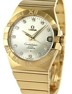 Omega Constellation Co-Axial 38mm 123.55.38.21.52.008 Kello