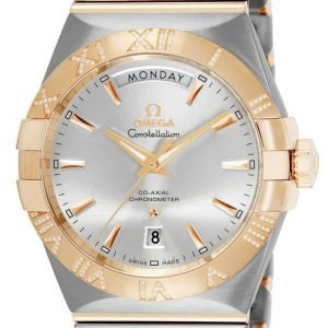 Omega Constellation Co-Axial Day-Date 38mm 123.25.38.22.02.001 Kello