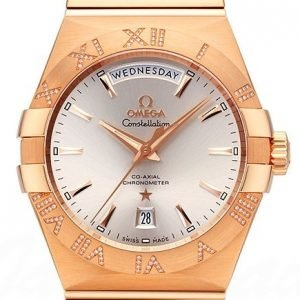 Omega Constellation Co-Axial Day-Date 38mm 123.55.38.22.02.001 Kello