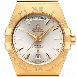 Omega Constellation Co-Axial Day-Date 38mm 123.55.38.22.02.002 Kello