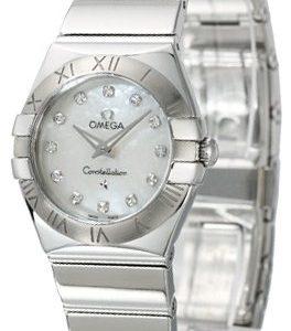 Omega Constellation Quartz 24mm 123.10.24.60.55.002 Kello