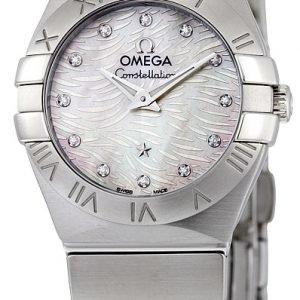 Omega Constellation Quartz 24mm 123.10.24.60.55.004 Kello