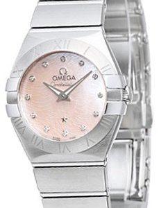 Omega Constellation Quartz 24mm 123.10.24.60.57.002 Kello