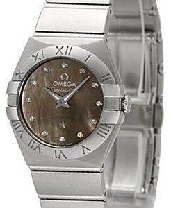 Omega Constellation Quartz 24mm 123.10.24.60.57.003 Kello