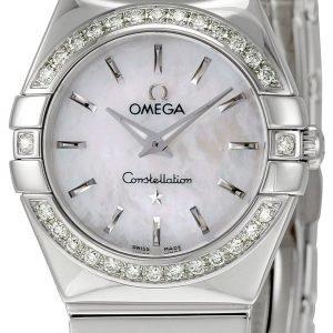 Omega Constellation Quartz 24mm 123.15.24.60.05.002 Kello