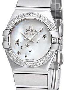 Omega Constellation Quartz 24mm 123.15.24.60.05.003 Kello