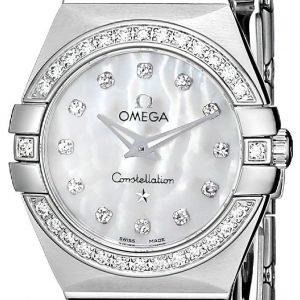 Omega Constellation Quartz 24mm 123.15.24.60.55.001 Kello