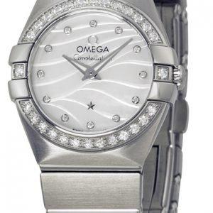 Omega Constellation Quartz 24mm 123.15.24.60.55.006 Kello
