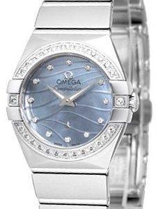 Omega Constellation Quartz 24mm 123.15.24.60.57.001 Kello